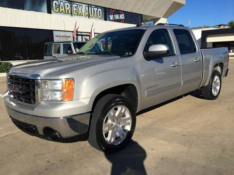 2007 GMC Sierra 1500 for sale at Car Ex Auto Sales in Houston TX