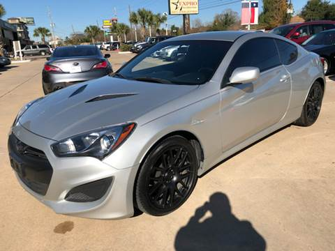 2013 Hyundai Genesis Coupe for sale at Car Ex Auto Sales in Houston TX