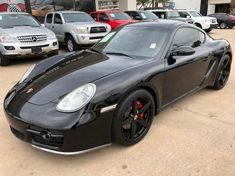 2006 Porsche Cayman for sale at Car Ex Auto Sales in Houston TX