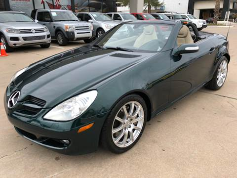 2005 Mercedes-Benz SLK for sale at Car Ex Auto Sales in Houston TX