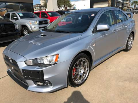 2008 Mitsubishi Lancer Evolution for sale at Car Ex Auto Sales in Houston TX