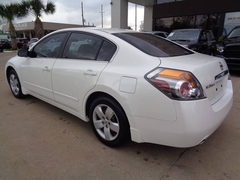 2008 Nissan Altima 25 S 4dr Sedan Cvt In Houston Tx Car Ex Auto Sales