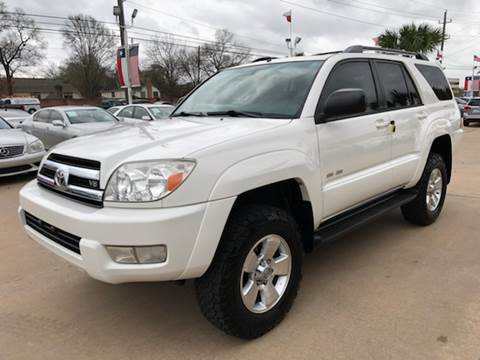 2005 Toyota 4Runner for sale at Car Ex Auto Sales in Houston TX
