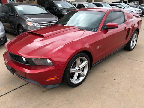 2010 Ford Mustang for sale at Car Ex Auto Sales in Houston TX
