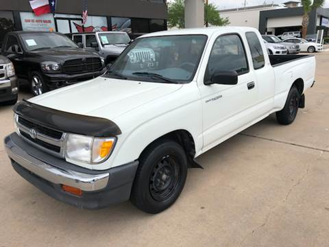 1998 Toyota Tacoma for sale at Car Ex Auto Sales in Houston TX