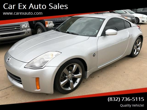2006 Nissan 350Z for sale at Car Ex Auto Sales in Houston TX