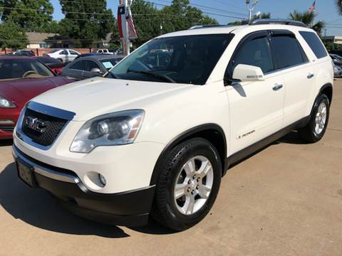 2007 GMC Acadia for sale at Car Ex Auto Sales in Houston TX