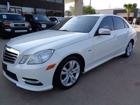 2012 Mercedes-Benz E-Class for sale at Car Ex Auto Sales in Houston TX