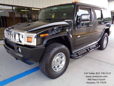 2007 HUMMER H2 for sale at Car Ex Auto Sales in Houston TX