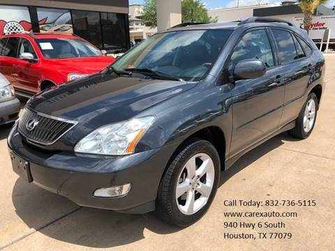 2007 Lexus RX 350 for sale at Car Ex Auto Sales in Houston TX