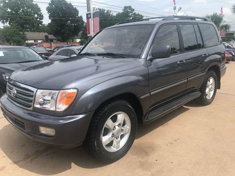 2003 Toyota Land Cruiser for sale at Car Ex Auto Sales in Houston TX