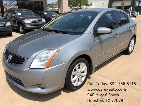 2012 Nissan Sentra for sale at Car Ex Auto Sales in Houston TX