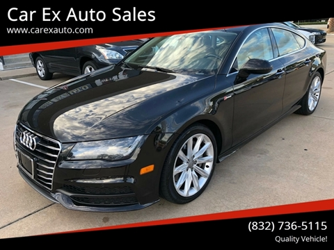 2013 Audi A7 for sale at Car Ex Auto Sales in Houston TX