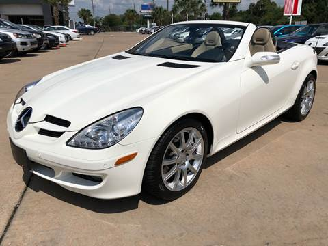 2006 Mercedes-Benz SLK for sale at Car Ex Auto Sales in Houston TX
