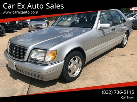 1999 Mercedes-Benz S-Class for sale at Car Ex Auto Sales in Houston TX
