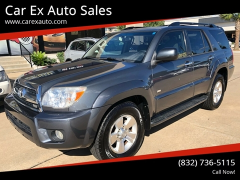 2006 Toyota 4Runner for sale at Car Ex Auto Sales in Houston TX