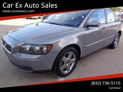 2005 Volvo S40 for sale at Car Ex Auto Sales in Houston TX