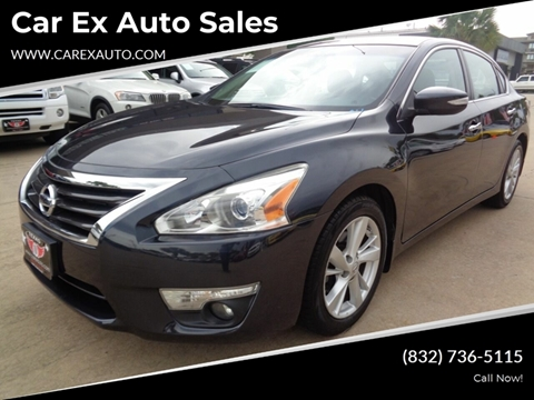2014 Nissan Altima for sale at Car Ex Auto Sales in Houston TX