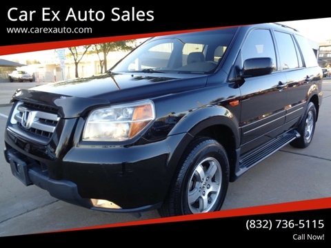 2006 Honda Pilot for sale at Car Ex Auto Sales in Houston TX