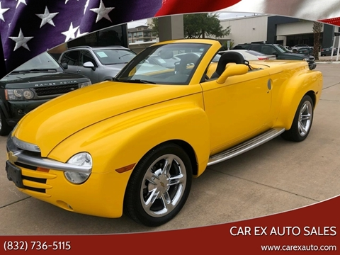 2005 Chevrolet SSR for sale at Car Ex Auto Sales in Houston TX