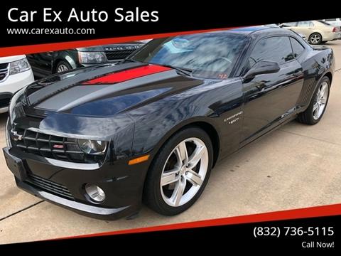 2012 Chevrolet Camaro for sale at Car Ex Auto Sales in Houston TX