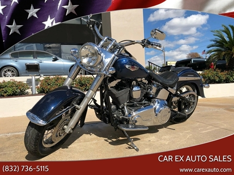 2012 Harley-Davidson FLSTN Softail Deluxe for sale at Car Ex Auto Sales in Houston TX