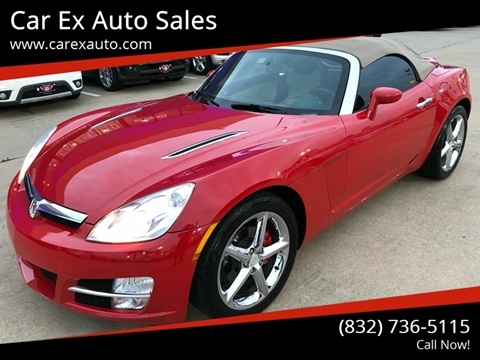 2007 Saturn SKY for sale at Car Ex Auto Sales in Houston TX