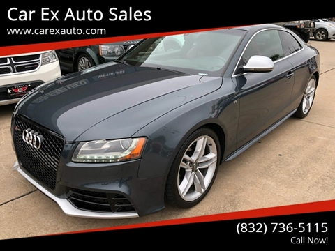 2008 Audi S5 for sale at Car Ex Auto Sales in Houston TX