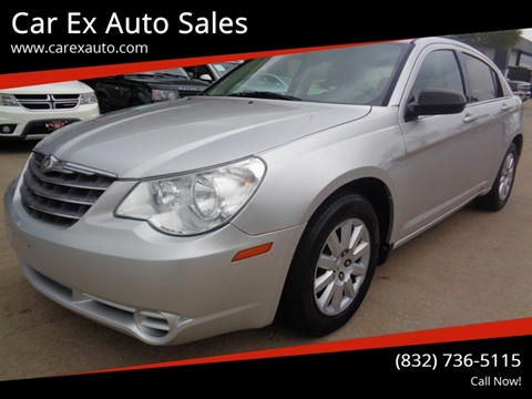 2010 Chrysler Sebring for sale at Car Ex Auto Sales in Houston TX