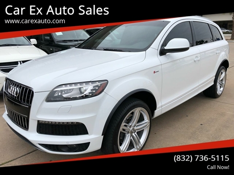 2014 Audi Q7 for sale at Car Ex Auto Sales in Houston TX