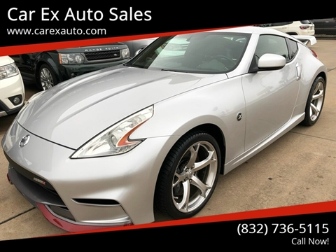 2011 Nissan 370Z for sale at Car Ex Auto Sales in Houston TX