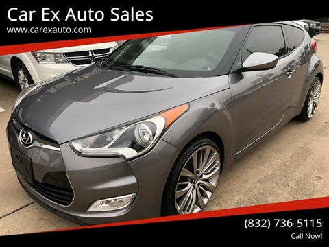 2013 Hyundai Veloster for sale at Car Ex Auto Sales in Houston TX