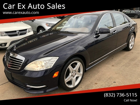 2010 Mercedes-Benz S-Class for sale at Car Ex Auto Sales in Houston TX