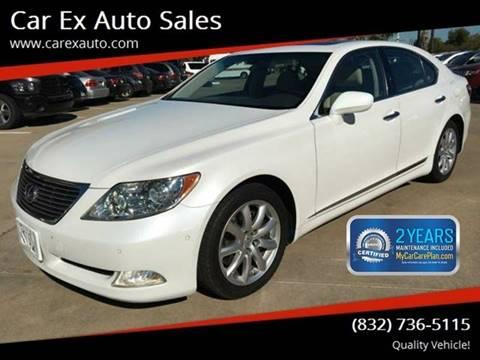 2008 Lexus LS 460 for sale at Car Ex Auto Sales in Houston TX