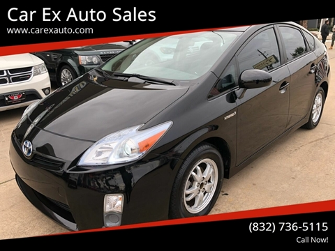 2011 Toyota Prius for sale at Car Ex Auto Sales in Houston TX