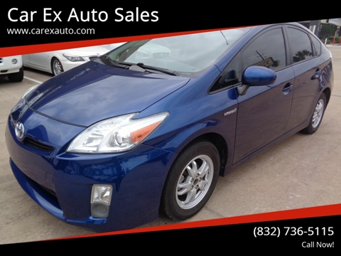 2010 Toyota Prius for sale at Car Ex Auto Sales in Houston TX