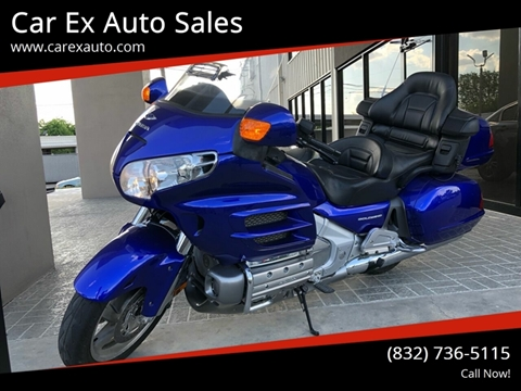 2005 Honda Gold Wing 30th Anniversary for sale at Car Ex Auto Sales in Houston TX