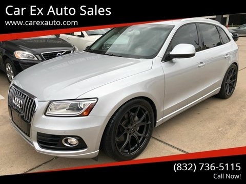 2014 Audi Q5 for sale at Car Ex Auto Sales in Houston TX