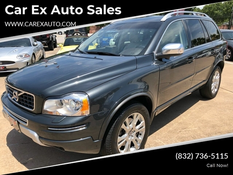 2013 Volvo XC90 for sale at Car Ex Auto Sales in Houston TX