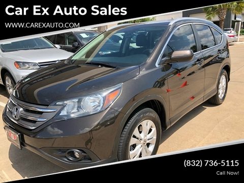 2013 Honda CR-V for sale at Car Ex Auto Sales in Houston TX