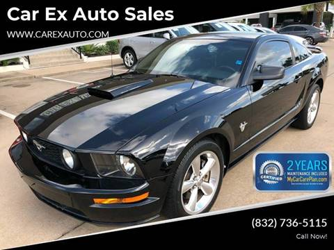 2009 Ford Mustang for sale at Car Ex Auto Sales in Houston TX