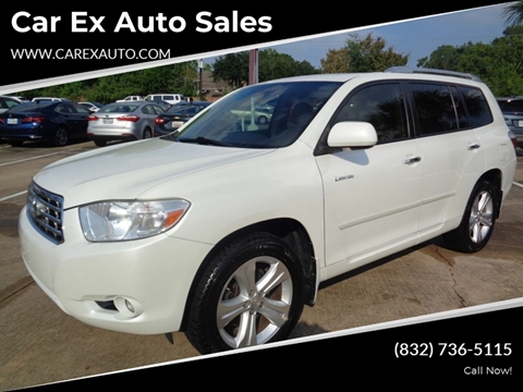 2009 Toyota Highlander for sale at Car Ex Auto Sales in Houston TX