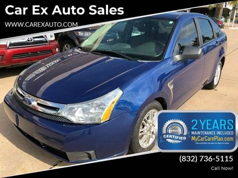 2008 Ford Focus for sale at Car Ex Auto Sales in Houston TX