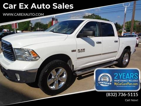 2013 RAM Ram Pickup 1500 for sale at Car Ex Auto Sales in Houston TX