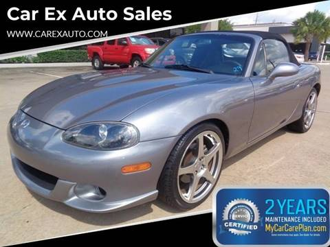 2004 Mazda MAZDASPEED MX-5 for sale at Car Ex Auto Sales in Houston TX