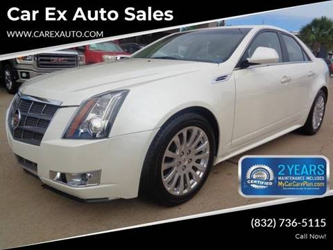 2010 Cadillac CTS for sale at Car Ex Auto Sales in Houston TX