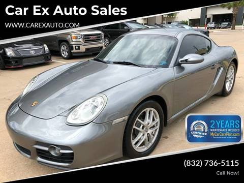 2008 Porsche Cayman for sale at Car Ex Auto Sales in Houston TX