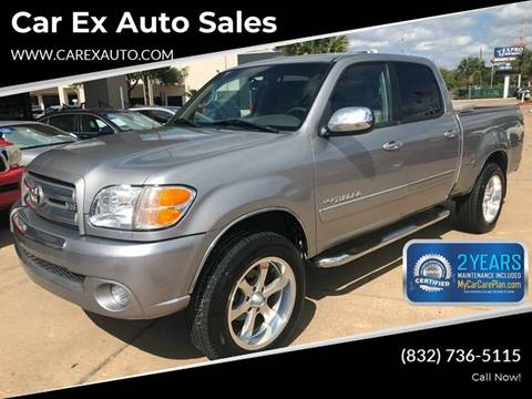 2004 Toyota Tundra for sale at Car Ex Auto Sales in Houston TX