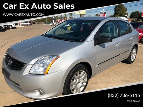 2011 Nissan Sentra for sale at Car Ex Auto Sales in Houston TX