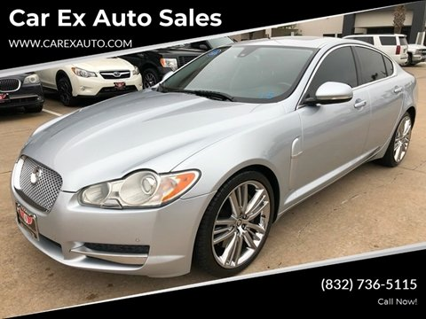 2011 Jaguar XF for sale at Car Ex Auto Sales in Houston TX